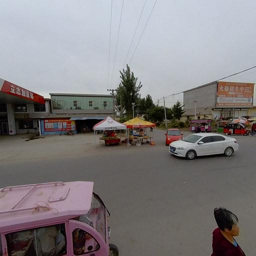 前台井村委会十字路口